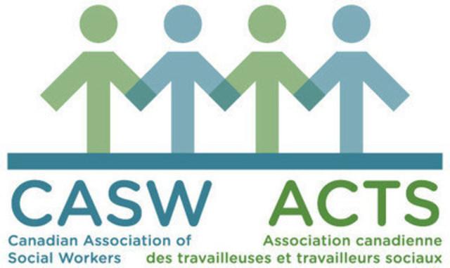 Logo: Association canadienne des travailleuses et travailleurs sociaux (Groupe CNW/Association canadienne des travailleuses et travailleurs sociaux)