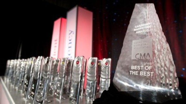 Celebrating the best in Canadian marketing, while focusing on the partnership between client and agency - the outstanding work these teams produce - the CMA Awards have been recognizing exceptional marketers for 45 years and counting. (CNW Group/Canadian Marketing Association)
