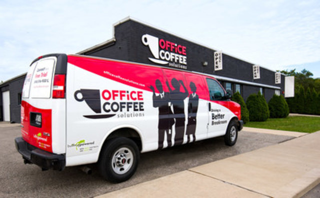 50 Shades of Green - Office Coffee Solutions Ltd. sets the new standard in commercial fleet management by addressing their transportation-related emissions. (CNW Group/Office Coffee Solutions Ltd.)