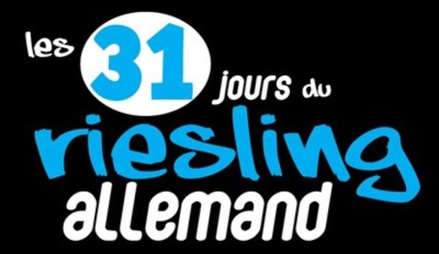 Les 31 jours du riesling allemand logo (Groupe CNW/Les Vins d'Allemagne au Canada)
