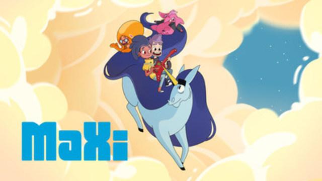 Frima et Groupe Média TFO lancent MaXi, la toute première série d'animation canadienne jeunesse formatée et conçue d'abord pour mobile. (Groupe CNW/Groupe Média TFO)