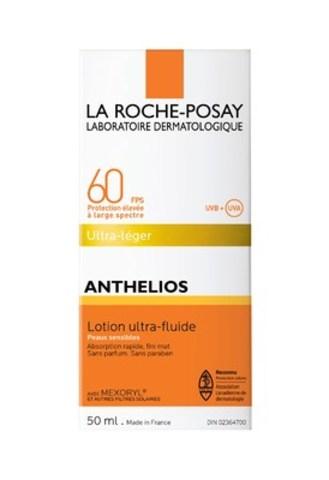 L'application sur la peau exposée au soleil d'un écran de protection dont le FPS est d'au moins 30, comme Anthelios Lotion Ultra-Fluide FPS 60, peut aider à protéger la peau des brûlures et des dommages causés par le soleil pour réduire le risque de cancer de la peau. (Groupe CNW/La Roche-Posay)