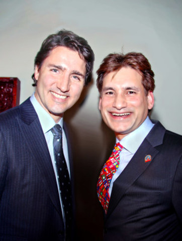 Canada-India Relationship to Remain Strong under New PM Justin Trudeau (CNW Group/Excel Funds Management Inc.)