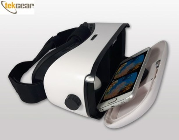 Tek Gear Delivers free VR Headsets to everyone! (CNW Group/TEK GEAR)