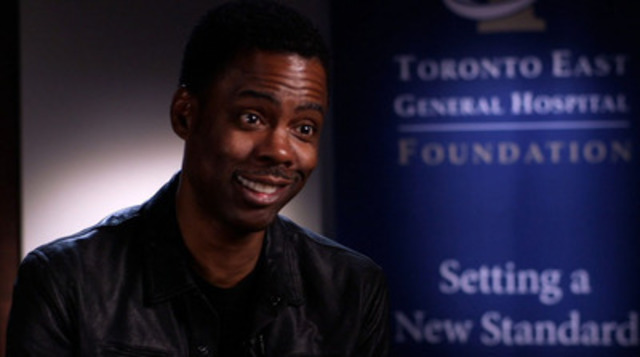 Video:  Chris Rock boosts Toronto East General Hospital to $2.5 million fundraising success at Comedy Gala, with Will Arnett as emcee - BROLL