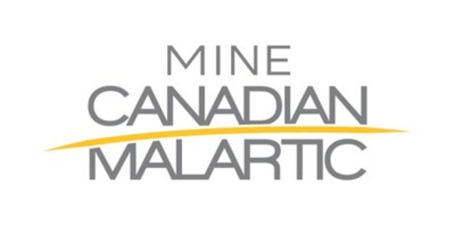 Logo: Mine Canadian Malartic (Groupe CNW/Mine Canadian Malartic)