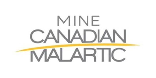 Logo: Mine Canadian Malartic (Groupe CNW/Mine Canadian Malartic)
