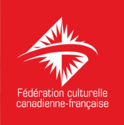 Logo - Fédération culturelle canadienne-française (Groupe CNW/Fédération culturelle canadienne-française)
