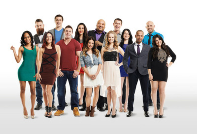 The season two cast of Big Brother Canada (CNW Group/SLICE)