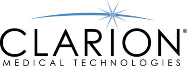 Available through Clarion Medical Technologies. (CNW Group/Clarion Medical Technologies Inc.)