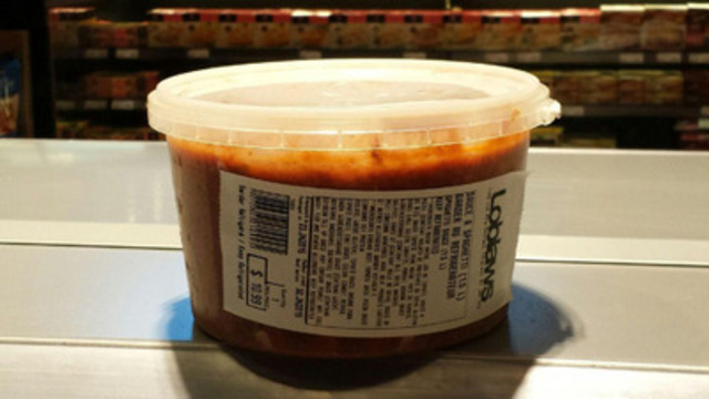Spaghetti sauce - 1,5L (Groupe CNW/Les Compagnies Loblaw limitée)