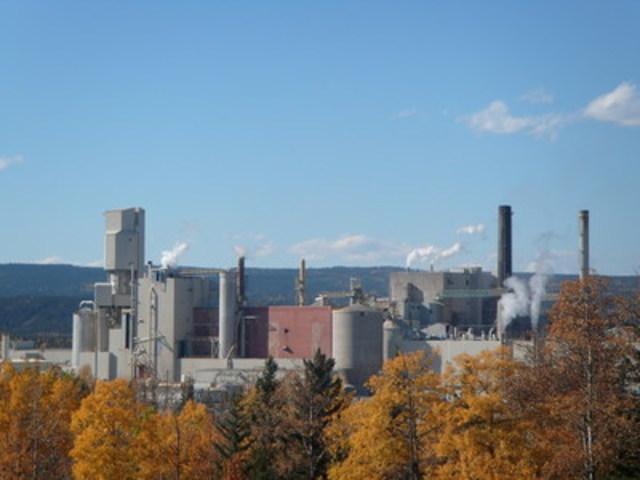 West Fraser Hinton pulp mill (CNW Group/Alberta Innovates - Bio Solutions)