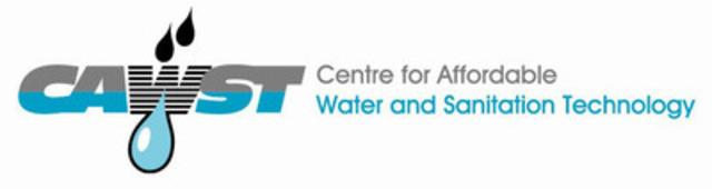 Centre for Affordable Water & Sanitation Technology (CAWST) (CNW Group/Centre for Affordable Water & Sanitation Technology (CAWST))