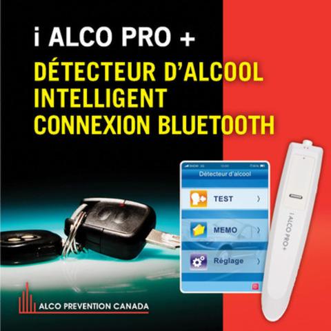 Alco Prévention Canada lance le premier détecteur d'alcool intelligent francophone (Groupe CNW/Alco Prévention Canada)