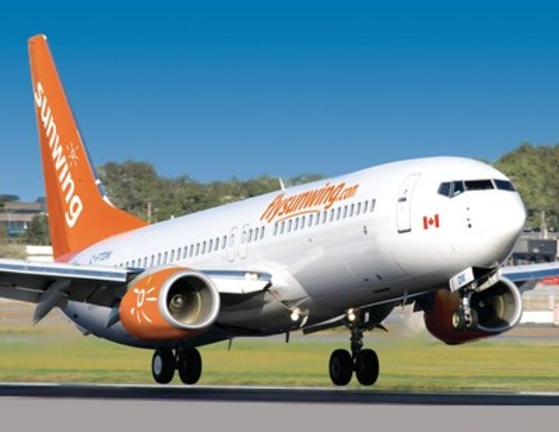 Sunwing Airlines (CNW Group/Sunwing Vacations)