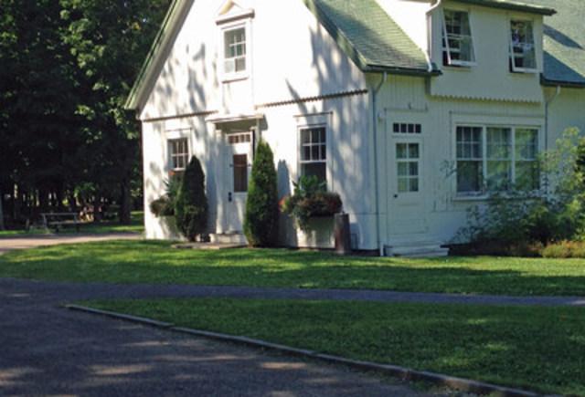 Maison du fermier du parc du Bois-de-Coulonge (Groupe CNW/Commission de la capitale nationale du Québec (CCNQ))