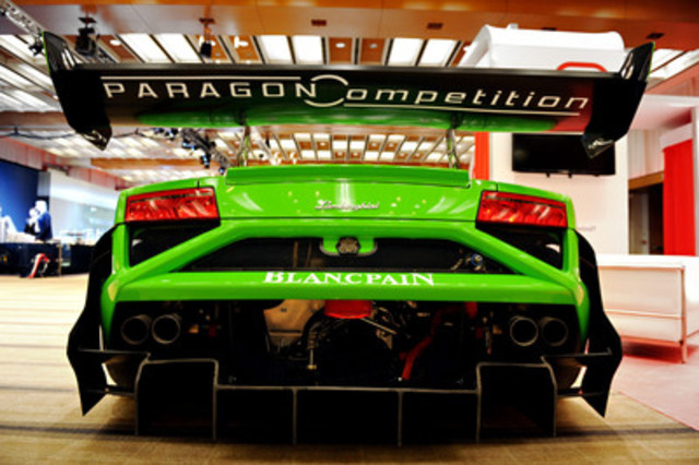 Lamborghini Uptown Toronto has partnered with Canadian-based Paragon Competition for the Lamborghini Blancpain Super Trofeo North American race series. (CNW Group/Grand Touring Automobiles)
