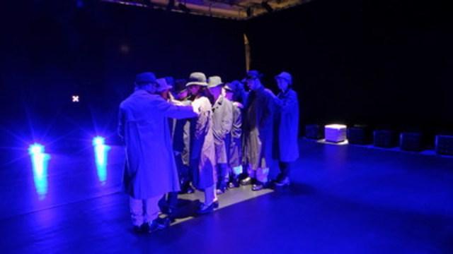 Vignette : L''expérience participative Danser Joe est présentée dans le studio de l''exposition Corps rebelles du Musée de la civilisation à Québec. Crédit photo : Marie-Claude Mailhiot (Groupe CNW/Musée de la Civilisation)