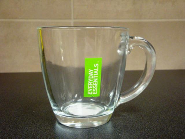 tasses en verre Everyday Essentials (Groupe CNW/Les Compagnies Loblaw limitée)