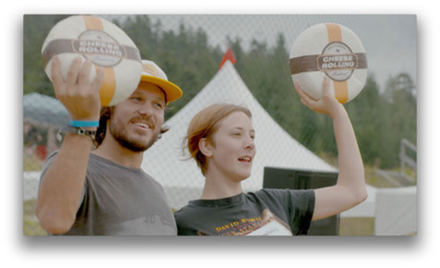 Video: Thousands of cheese lovers fell for Canadian cheese at the seventh Canadian Cheese Rolling Festival in Whistler, British Columbia on August 16th, 2014.