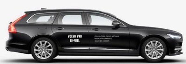 Volvo V90 Bi-Fuel Station Wagon (CNW Group/Westport Fuel Systems Inc.)
