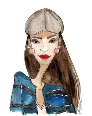 Conseil no 5 : Pour un visage ovale...la casquette Ivy Tec-Cork (Groupe CNW/Tilley Endurables Inc)