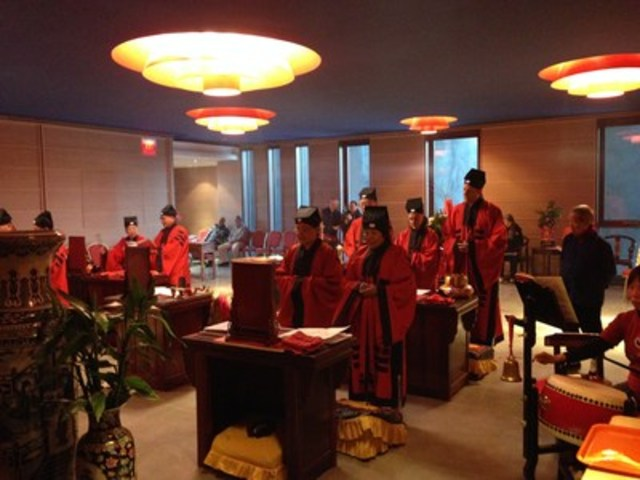 Taoist rituals and ceremonies will take place regularly at Wong Dai Sin Taoist Temple. (CNW Group/Fung Loy Kok Institute of Taoism)