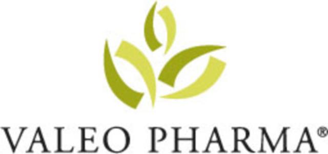 Logo - Valeo Pharma (CNW Group/Valeo Pharma)