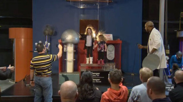 B-Roll: March Break 2015 at the Ontario Science Centre