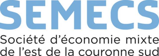 Société d'Économie Mixte de l'Est de la Couronne Sud (SÉMECS) (Groupe CNW/Société d'Économie Mixte de l'Est de la Couronne Sud (SÉMECS))