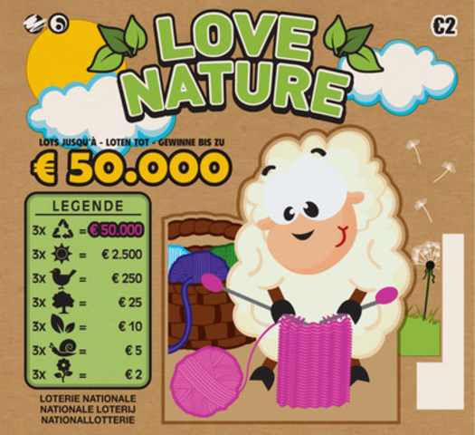 Pollard Banknote's Eco Scratch™ Instant Ticket (CNW Group/Pollard Banknote Limited)