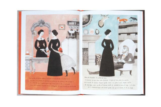 GRAND PRIX 2013 VOLET Illustration Livre - Jane le renard et moi - Isabelle Arsenault (Groupe CNW/EDITIONS INFOPRESSE INC)