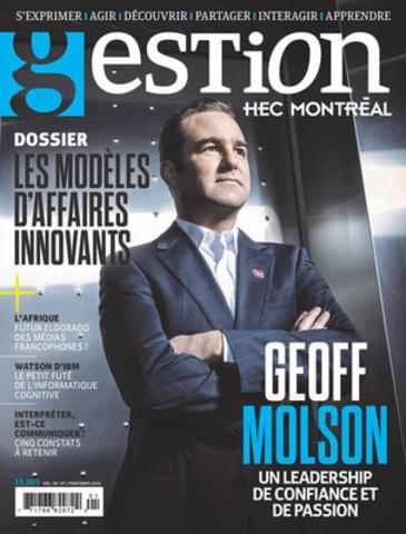 Revue Gestion : Un virage pour les gens d'affaires! (Groupe CNW/HEC Montréal)