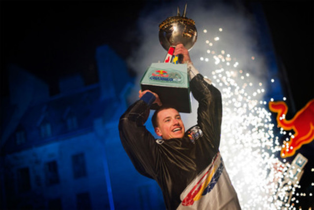 Canadian Kyle Croxall triumphed as the 2012 Red Bull Crashed Ice World Champion in the epic season finale in ...
