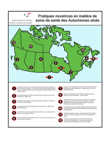 Innovative Practices in Aboriginal Seniors Health Care (CNW Group/Health Council of Canada)