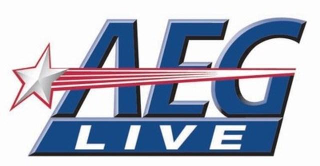 Logo: AEG Live (Groupe CNW/Bureau de Francine Chaloult (Le))