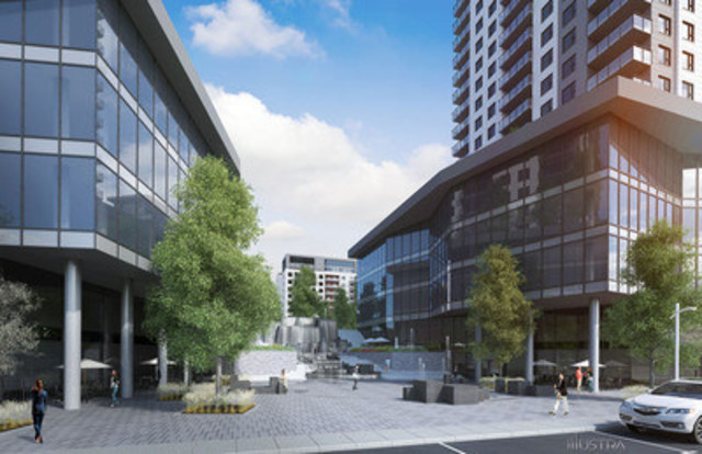 Urbania 2 : une projet de la Société de développement Urbania et du Fonds immobilier de solidarité FTQ à Laval (Groupe CNW/Fonds immobilier de solidarité FTQ)
