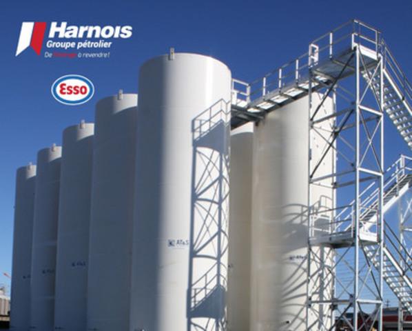 Harnois Groupe pétrolier se dote d'un dépôt à Labrador City. (Groupe CNW/Harnois Groupe pétrolier)