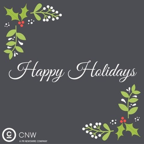 Happy Holidays from CNW (CNW Group/CNW Group Ltd.)