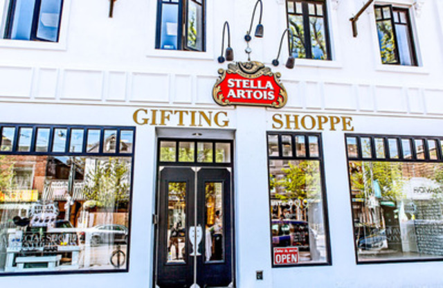 Need a last minute Father's Day gift? Look no further than the Stella Artois Gifting Shoppe at 399 Queen St West. (CNW Group/Labatt Breweries of Canada)