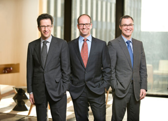 Hicks Morley welcomes three new partners. From left, Jeffrey Goodman, Henry Dinsdale and Michael Smyth (CNW Group/Hicks Morley)