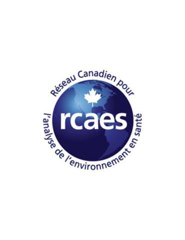 Logo : Réseau canadien pour l'analyse de l'environnement en santé (RCAES) (Groupe CNW/Réseau canadien pour l'analyse de l'environnement en santé (RCAES))