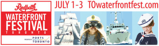 Redpath Waterfront Festival (CNW Group/Water's Edge Festivals & Events)