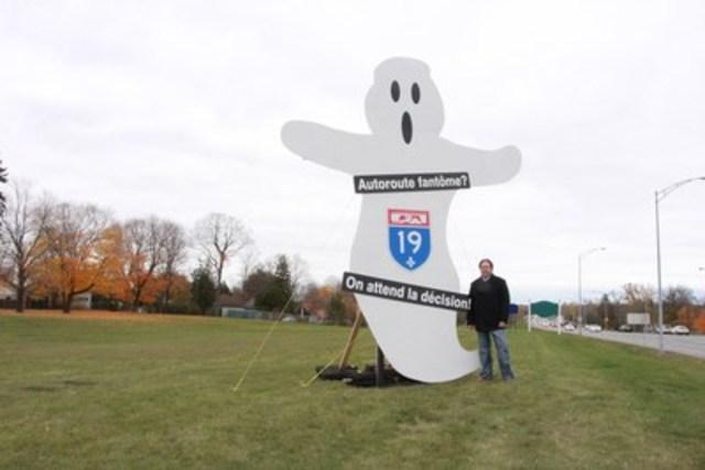 L'autoroute 19 : une autoroute fantôme (Groupe CNW/Coalition 19)