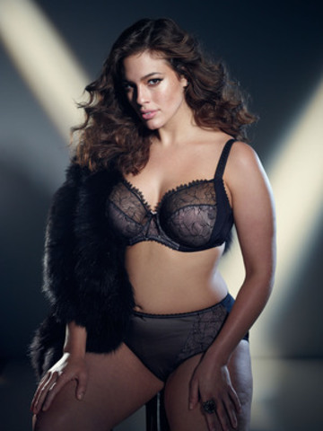 Ashley Graham. (CNW Group/Addition Elle)