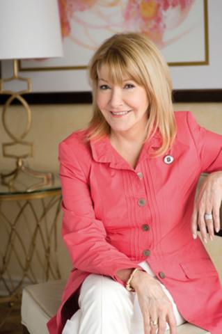 Louise DesChâtelets, porte-parole du Mouvement Bouton argenté (Groupe CNW/FADOQ)
