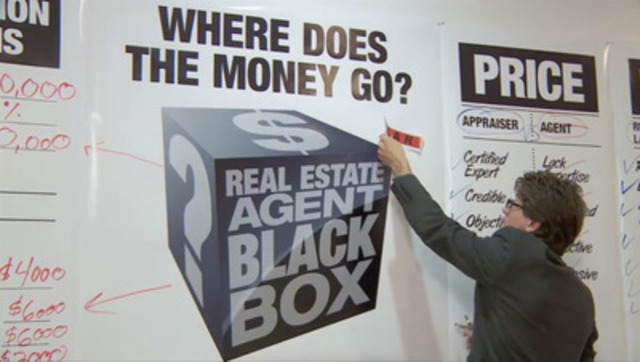 B-roll: Cracking Real Estate's Black Box Consumers urged to ignore fear.