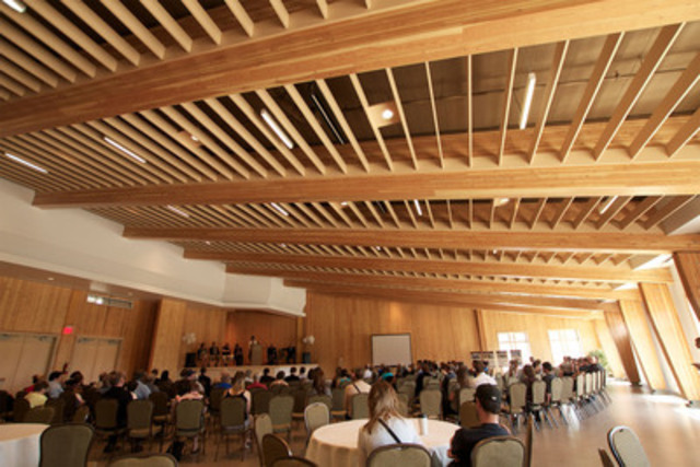 Elkford Community Conference Centre, Elkford, BC (CNW Group/Canadian Wood Council for Wood WORKS! BC)