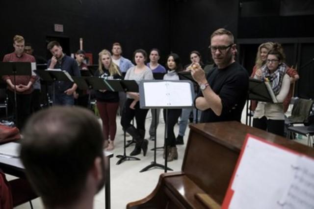 Rumspringa Break! An Am-ish Musical. (Photo credit: Jonathan Bielaski) (CNW Group/Sheridan College)