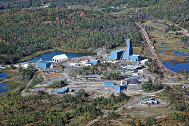 Totten Mine Aerial View (CNW Group/Vale Canada Limited)
